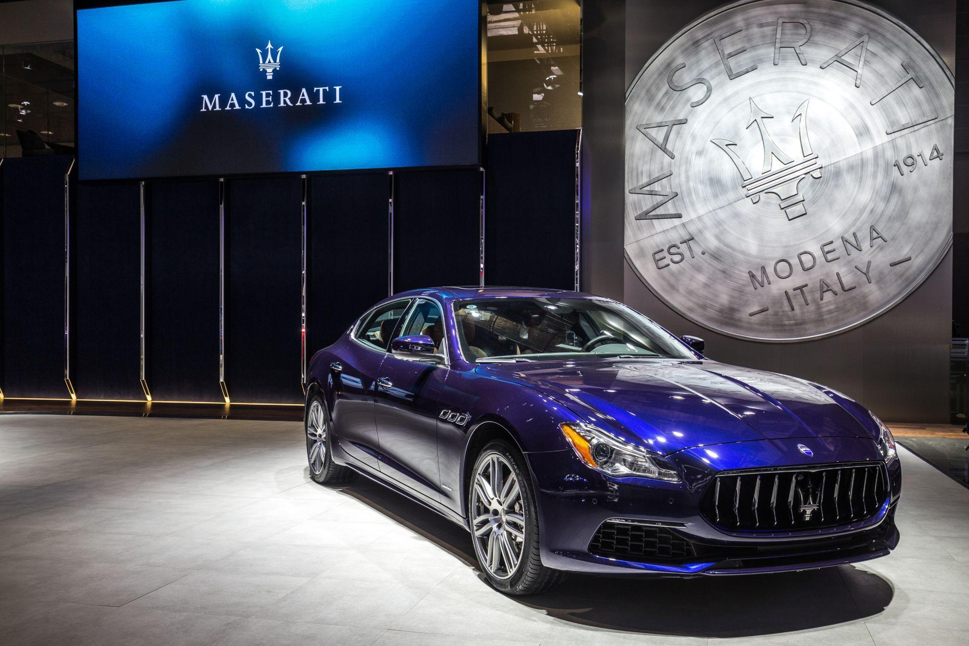 El Maserati número 100.000, un Quattroporte GranSport, presentado al mercado Chino en el Salón de Shanghai 2017
