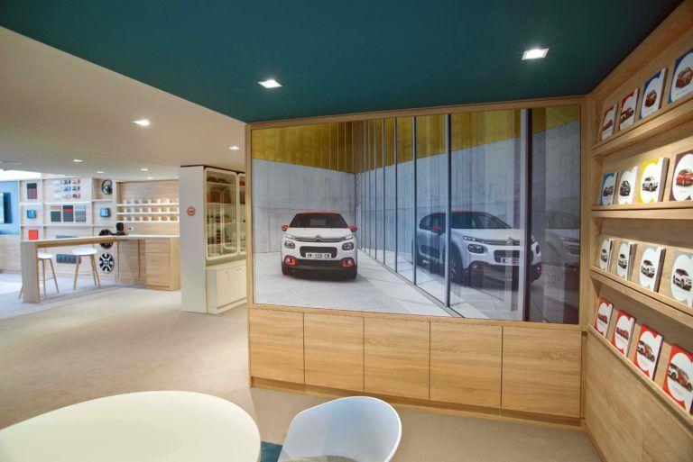 """Llega """"La Maison Citroën"""", un nuevo concepto de punto de venta urbano"""