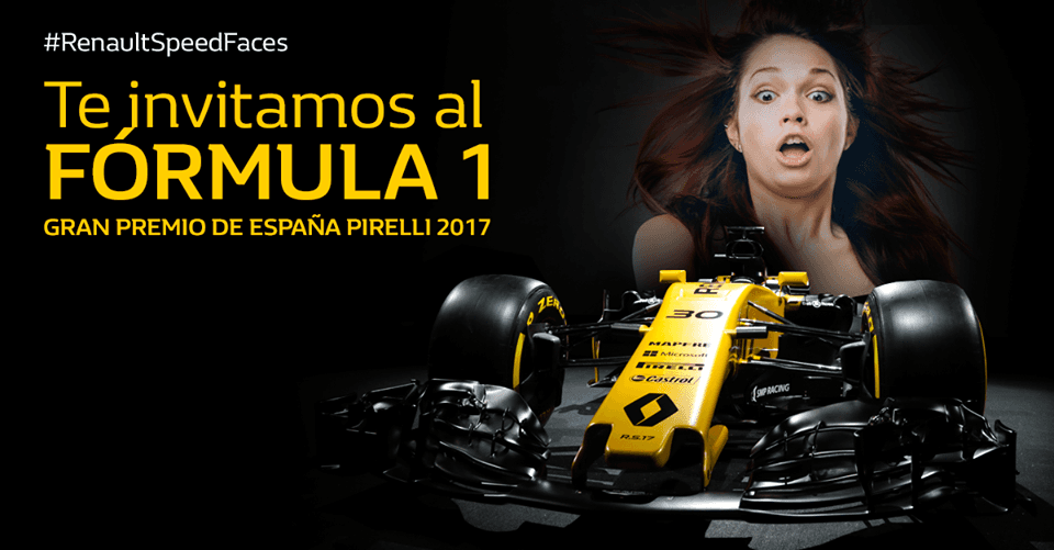 Renault Speed Faces