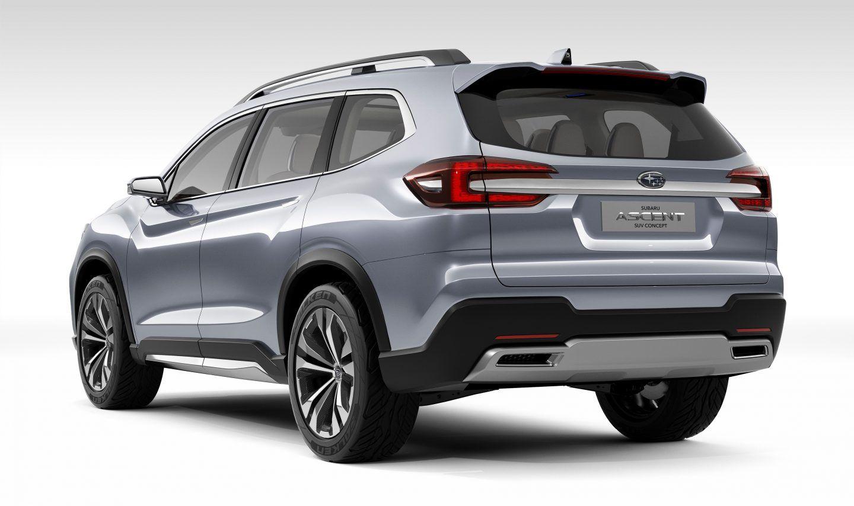 El Subaru Ascent será realidad en 2018 en EEUU