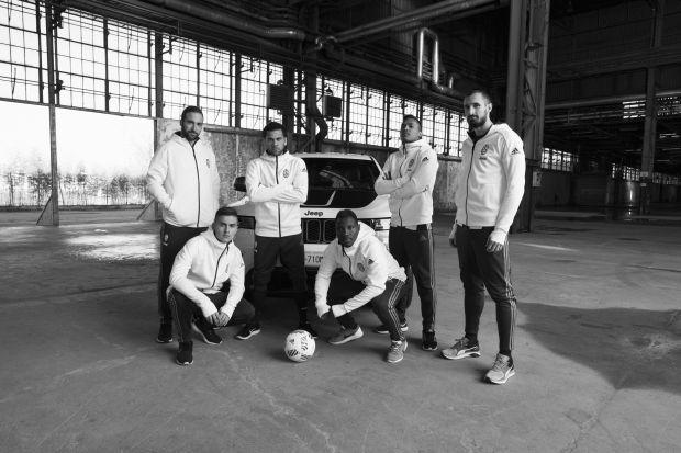Jeep y la Juventus protagonizan una nueva campaña