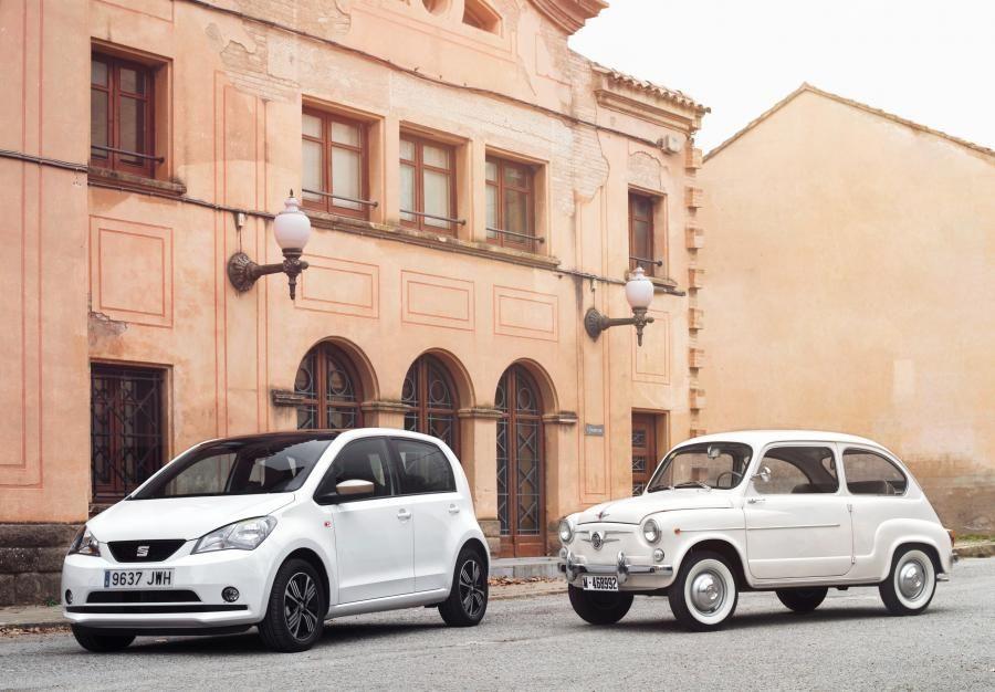 SEAT 600 y SEAT Mii: distintas épocas, mismo espíritu.