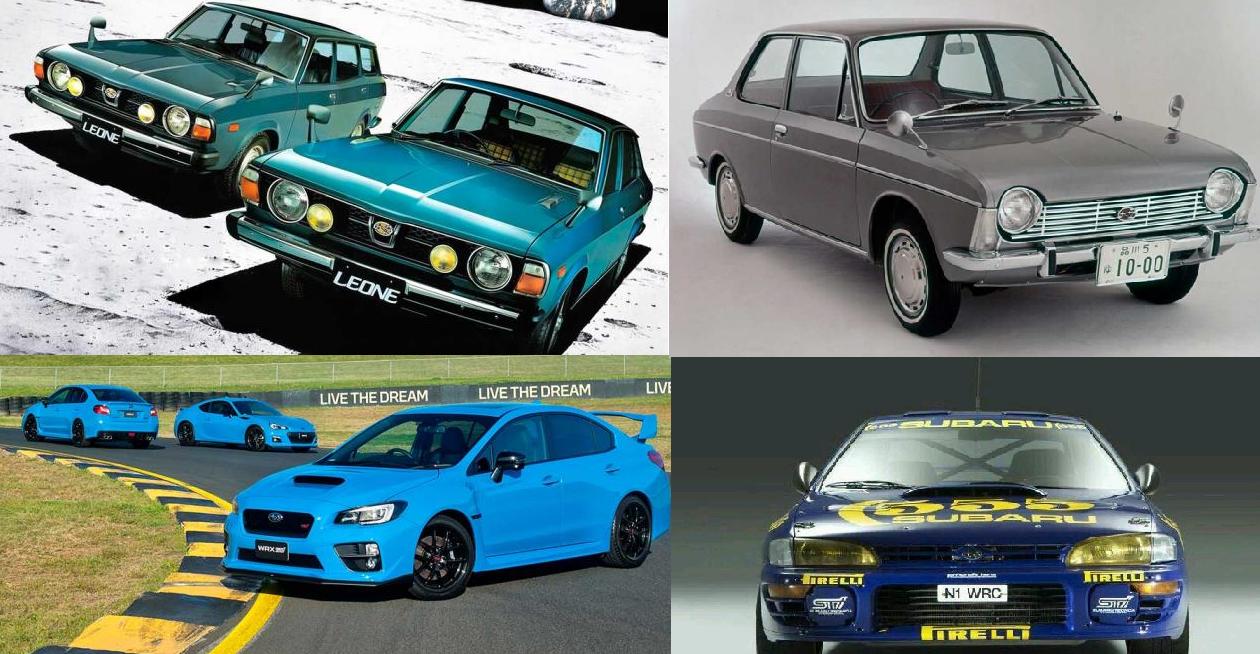 ¿Crees que son estos los mejores Subaru de la Historia?