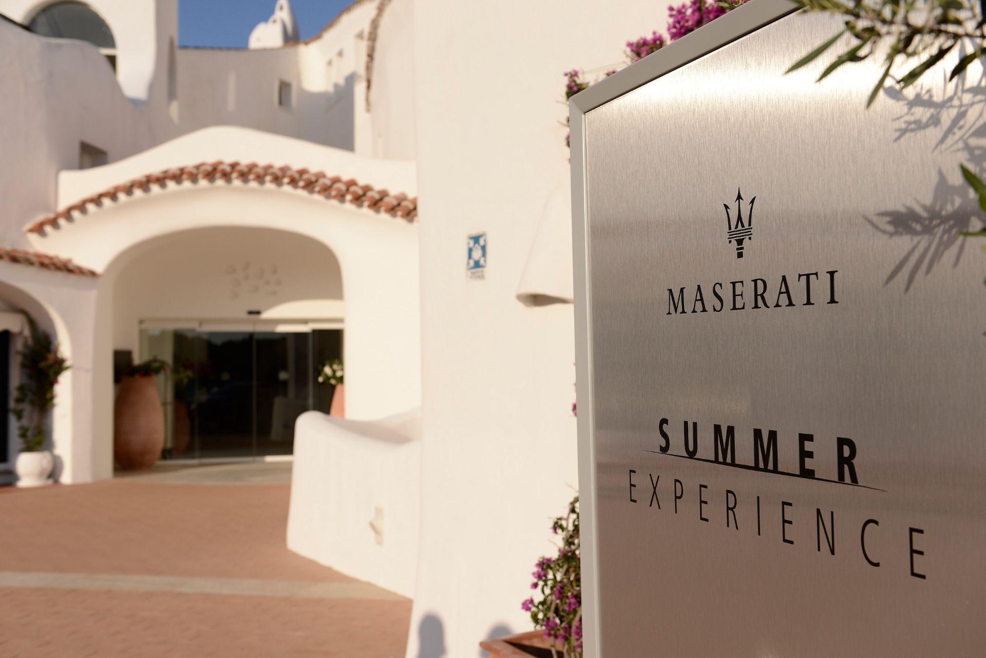 Summer Experience: Maserati y Marriott juntos  en Costa Esmeralda