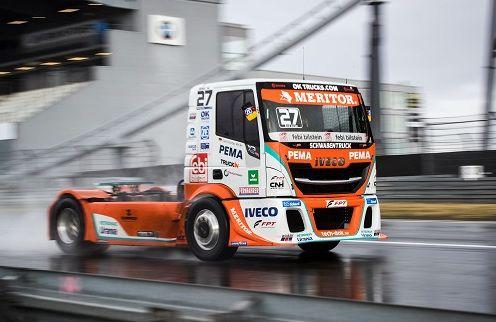 El Bullen de IVECO Magirus sube de nuevo al podio en Alemania con dos terceras posiciones y finalizando segundo en la carrera por equipos