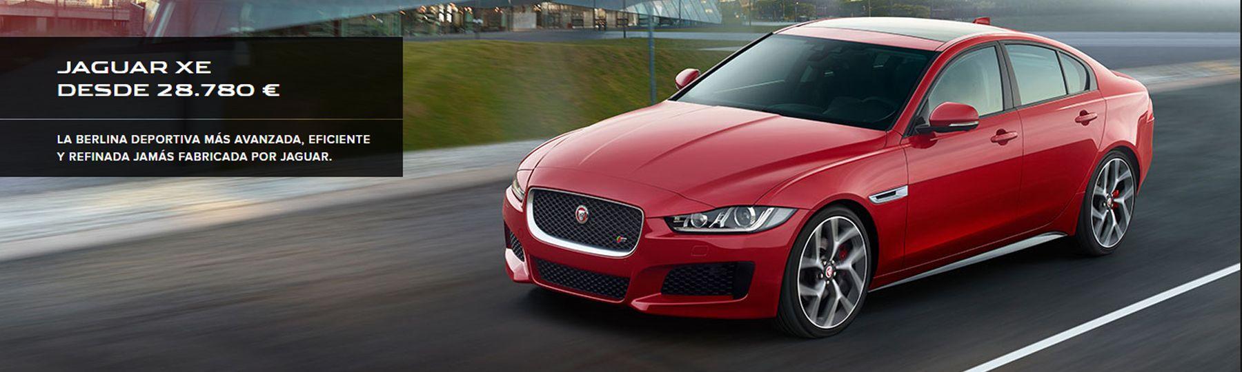 Jaguar XE desde 28.780€
