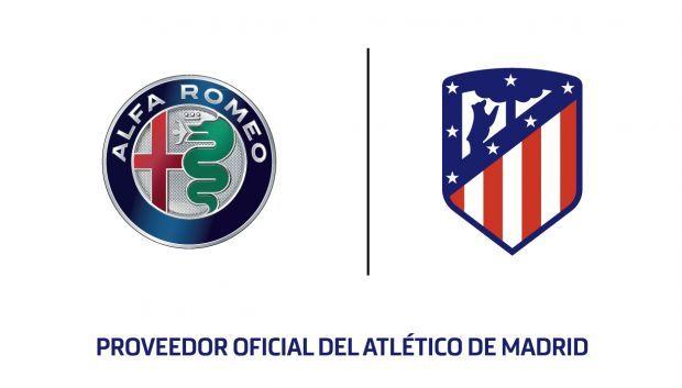 Alfa Romeo, Proveedor Oficial del Atlético de Madrid