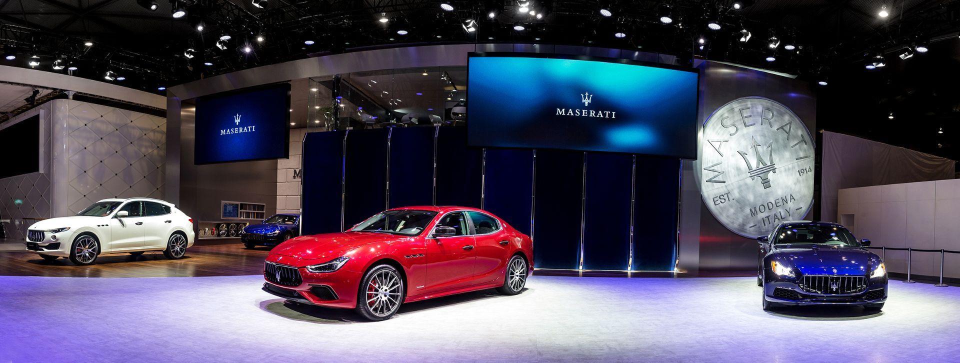 Maserati descubre los nuevos Ghibli GranLusso y GranSport en el Salón del Automóvil de Chengdu 2017