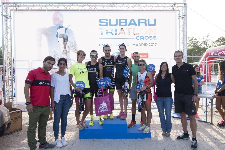 Más de 1.000 triatletas toman la Casa de Campo de Madrid en el Subaru Triatlón Cross