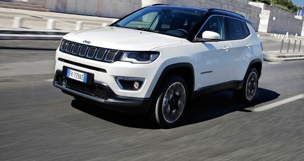 Jeep Compass logra la máxima calificación de cinco estrellas EuroNCAP