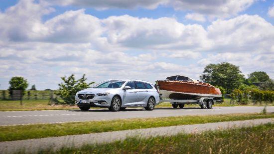 Opel Insignia Sports Tourer: la forma más sencilla de llevar un remolque