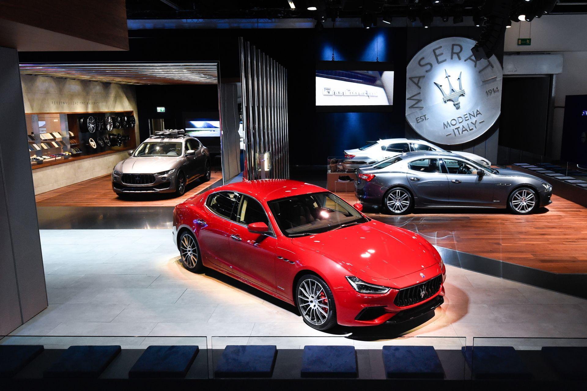 Maserati desvela el nuevo Ghibli y presenta los Levante, Quattroporte, GranTurismo y GranCabrio MY18 en el Salón de Frankfurt
