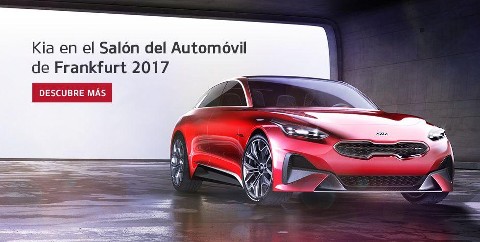 KIA EN EL SALÓN DEL AUTOMÓVIL DE FRANKFURT 2017