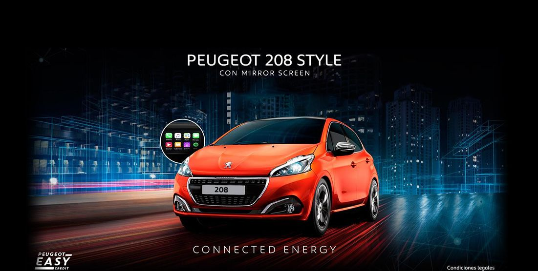 PEUGEOT 208 STYLE.