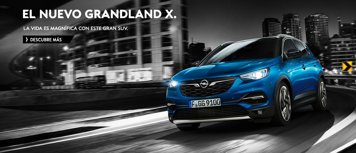 Nuevo Opel Grandland X