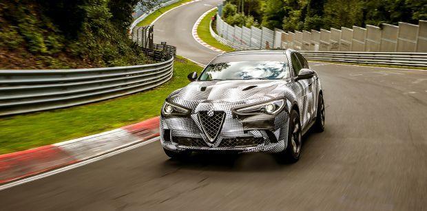 Alfa Romeo Stelvio Quadrifoglio, el SUV más rápido del mundo con el récord de vuelta en Nürburgring