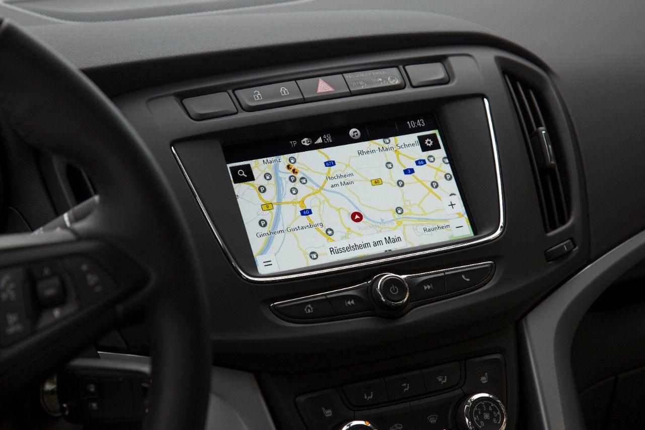Opel Zafira bien conectado con IntelliLink Navi 4.0