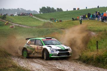 TRES EQUIPOS DE SKODA EN EL RALLY DE GALES GB DEL WRC 2: VEIBY Y NORDGREN COMPITEN JUNTO AL CAMPEÓN TIDEMAND