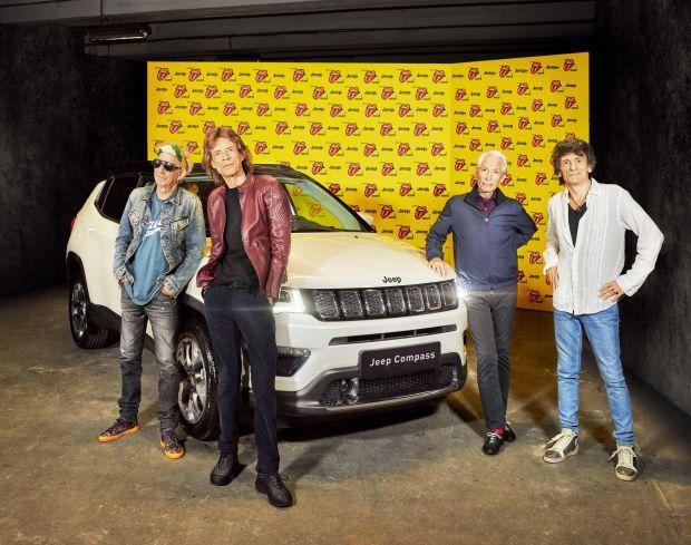The Rolling Stones y Jeep Compass hacen que vibre París al final de su gira europea