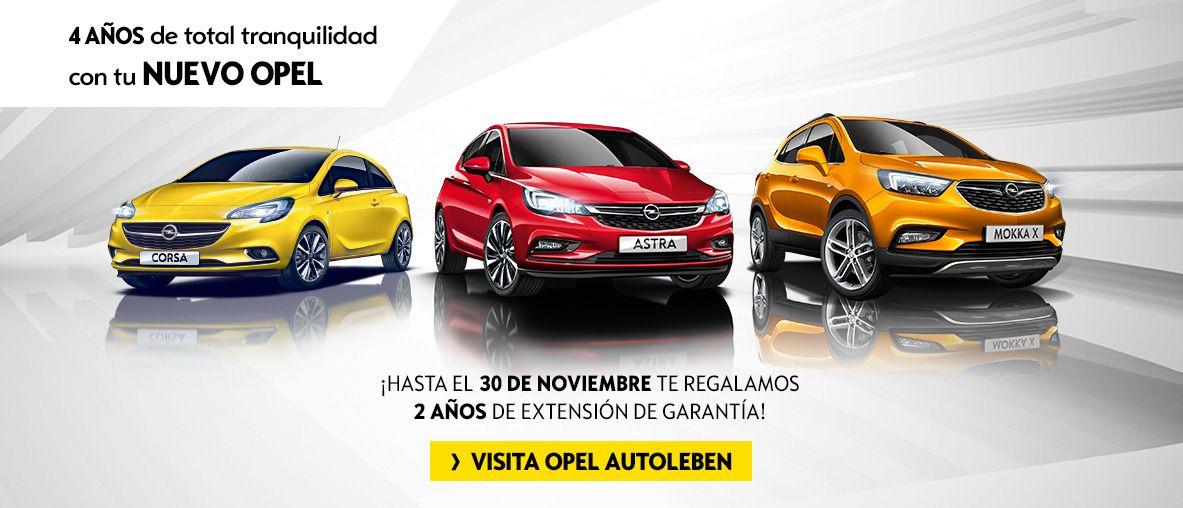 4 Años de total tranquilidad con tu nuevo Opel - 2 años de extensión de garantía Autoleben Gavá