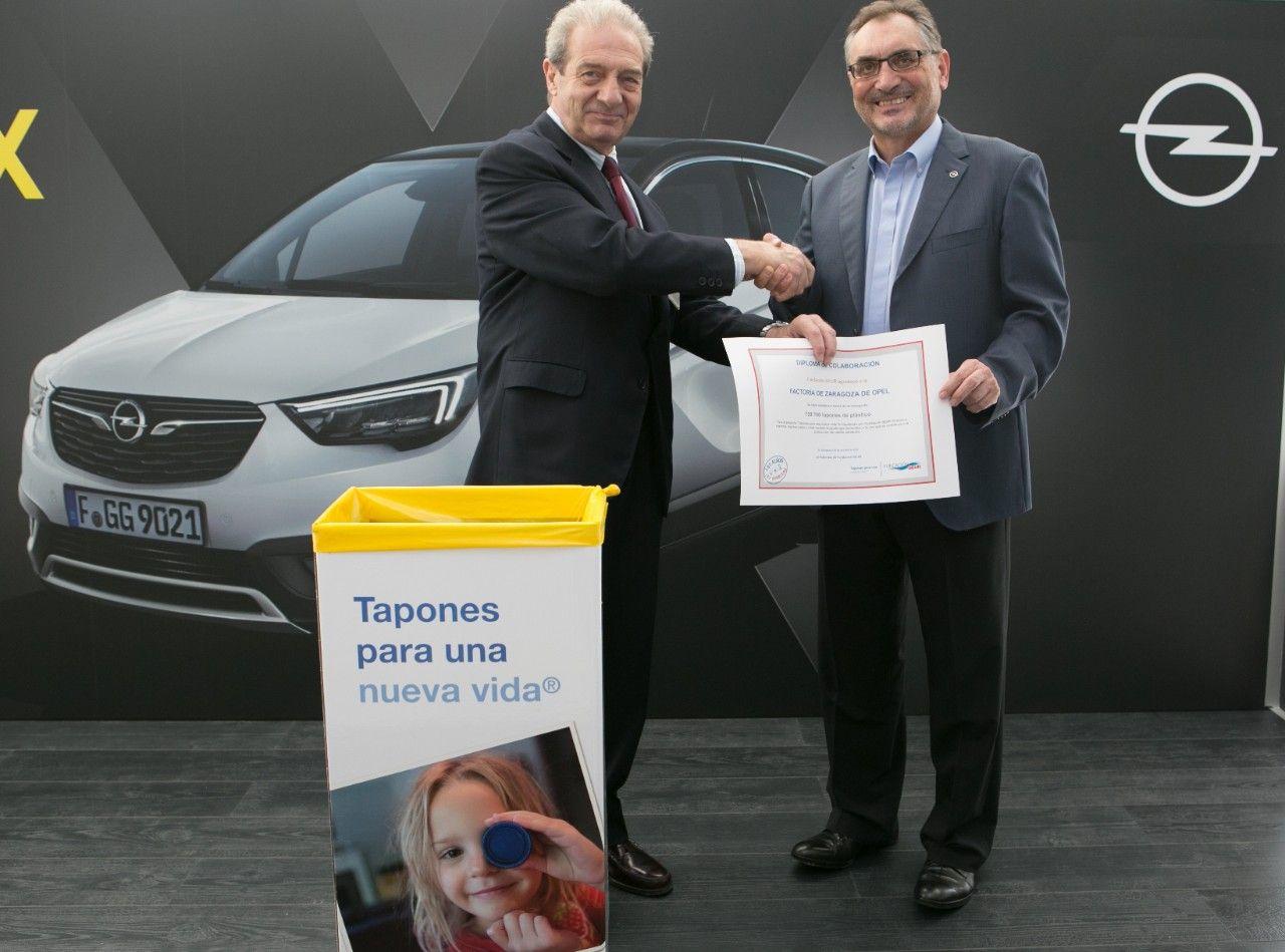 Opel y Fundación SEUR consolidan su colaboración