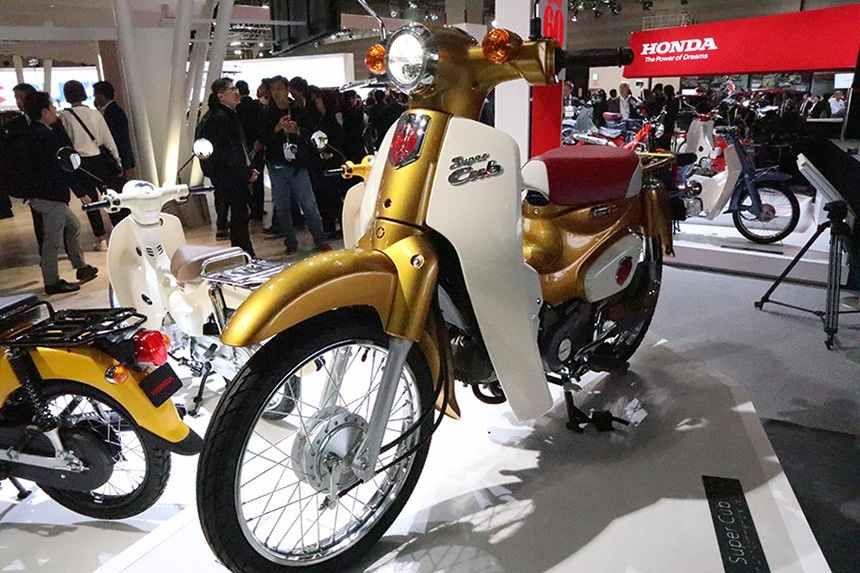 ¡Felicidades, Super Cub! 100 millones de la motocicleta más fabricada del mundo