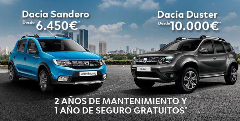 DACIA SANDERO Y DUSTER