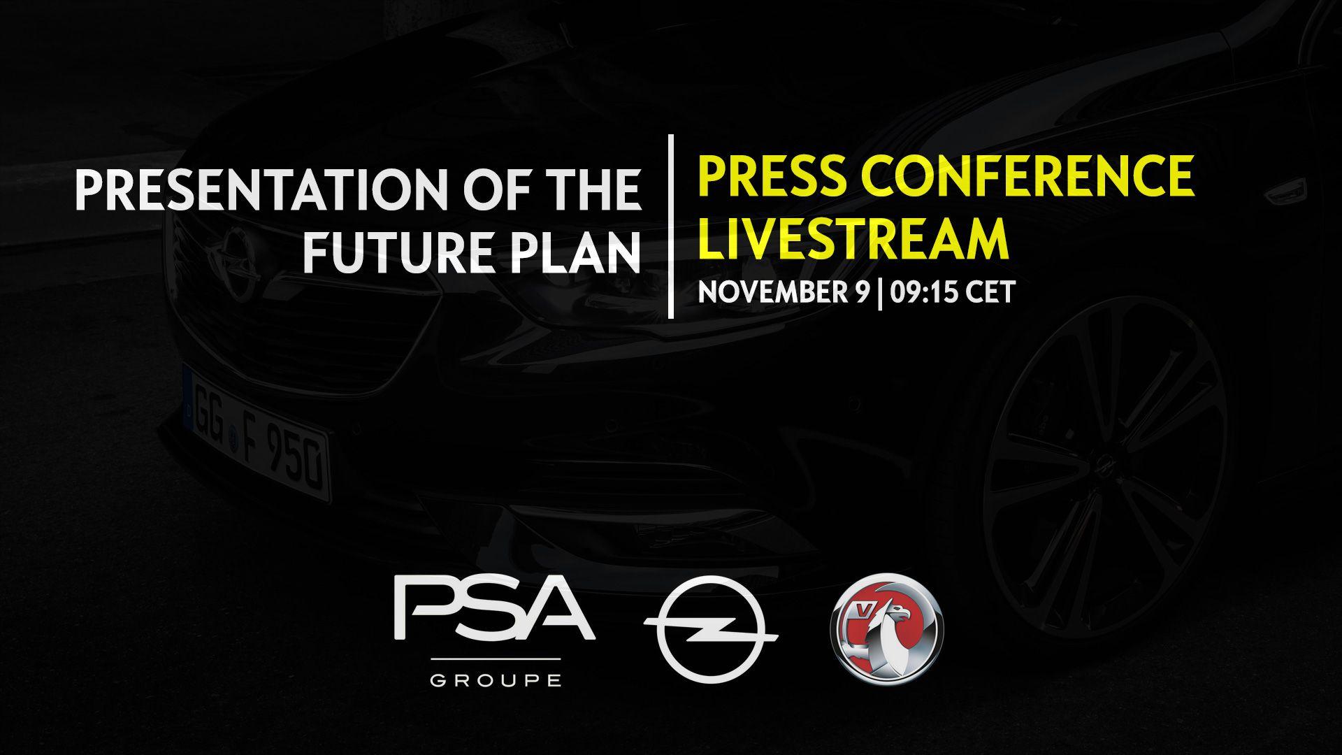 Opel/Vauxhall presenta su Plan de Futuro a través de Livestream