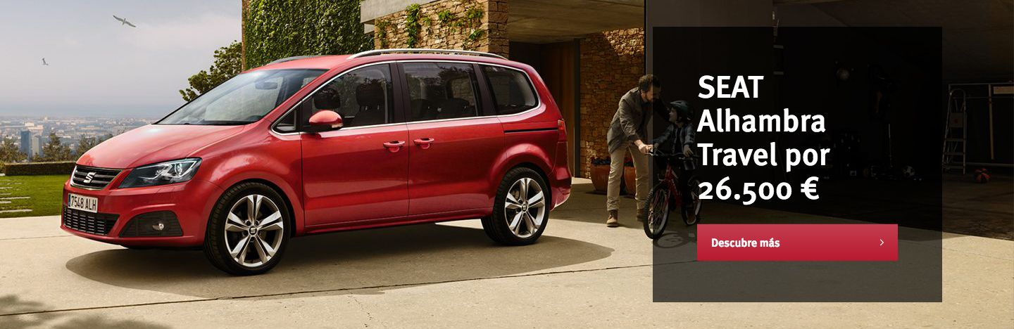 SEAT ALHAMBRA TRAVEL