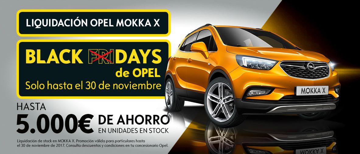 Liquidación de stock Opel Mokka X últimas unidades, hasta 5.000€ de ahorro d3