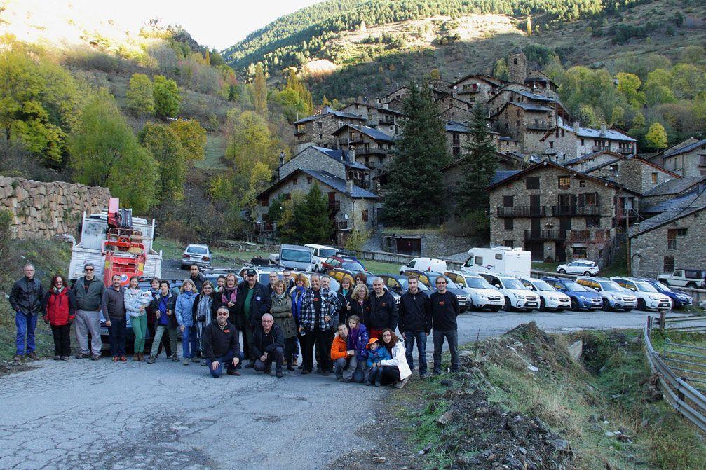La Subarundorra 2017 permite a familias subaristas disfrutar del Pirineo