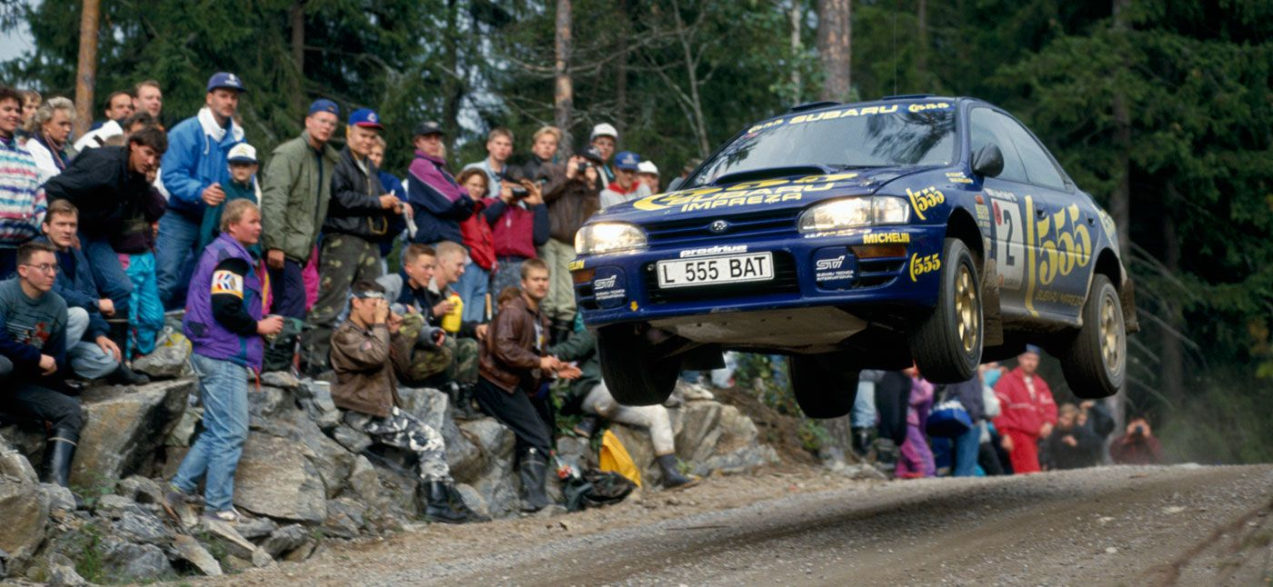 Subaru Impreza GT Turbo, el mito cumple 25 años
