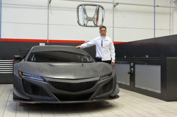 El Honda NSX GT3 debuta este fin de semana en el mundial GT de la FIA