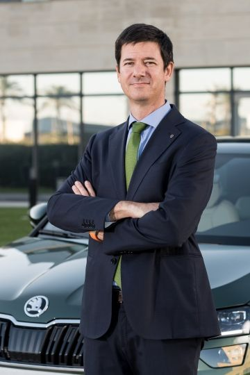 CARLOS CALATAYUD, NUEVO DIRECTOR DE VENTAS DE SKODA