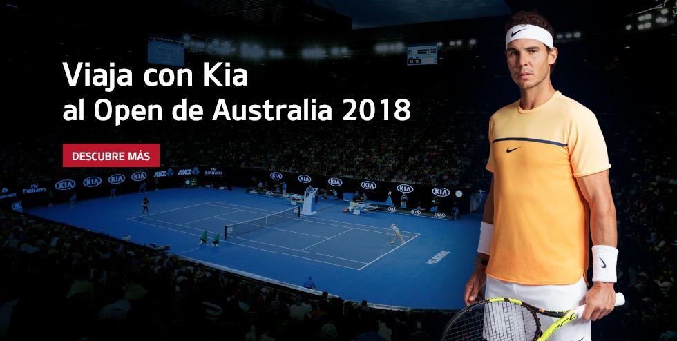 VIAJA CON KIA AL OPEN DE AUSTRALIA 2018
