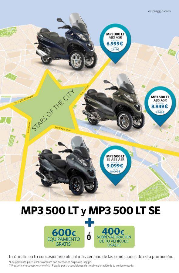 OFERTA MP3 300/500 LT