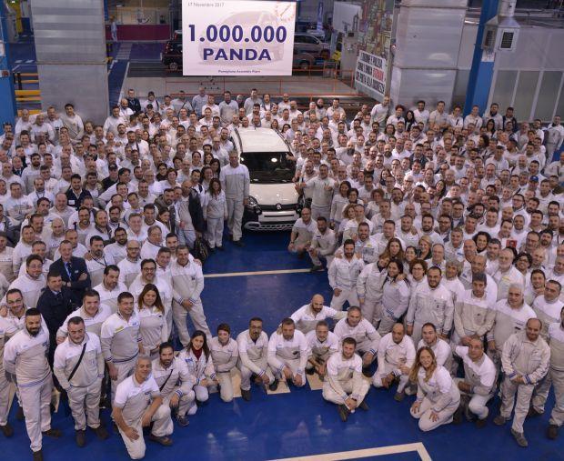 Hoy se ha fabricado el Fiat Panda un millón