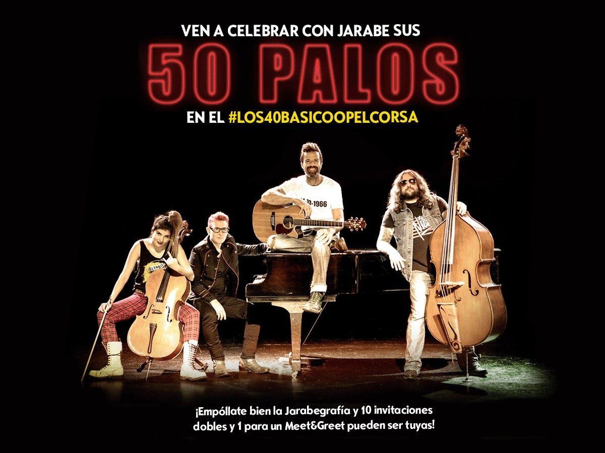 Jarabe de Palo próximo artista en directo de Los 40Básico Opel Corsa