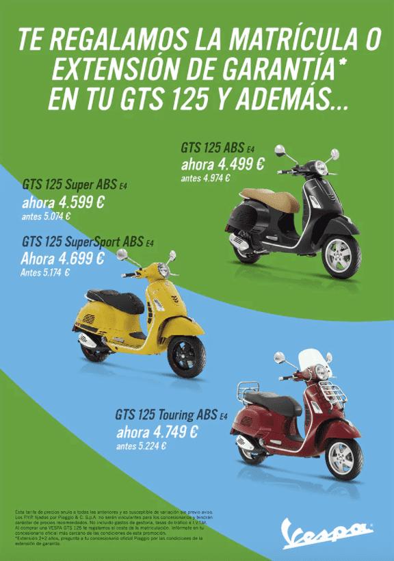 VESPA GTS 125 PROMO