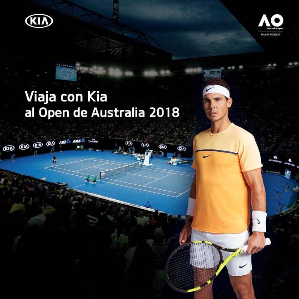 Kia te invita al Open de Australia 2018