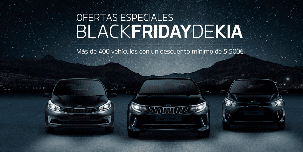 BLACK FRIDAY DE KIA