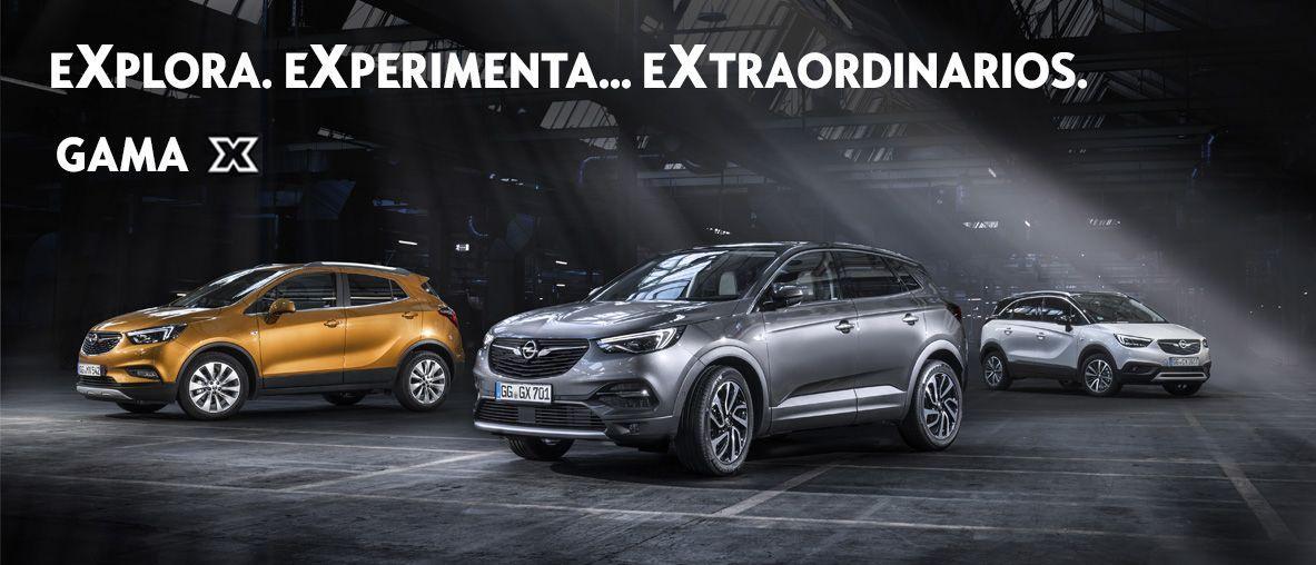 Nueva Gama Opel SUV, Gama X .