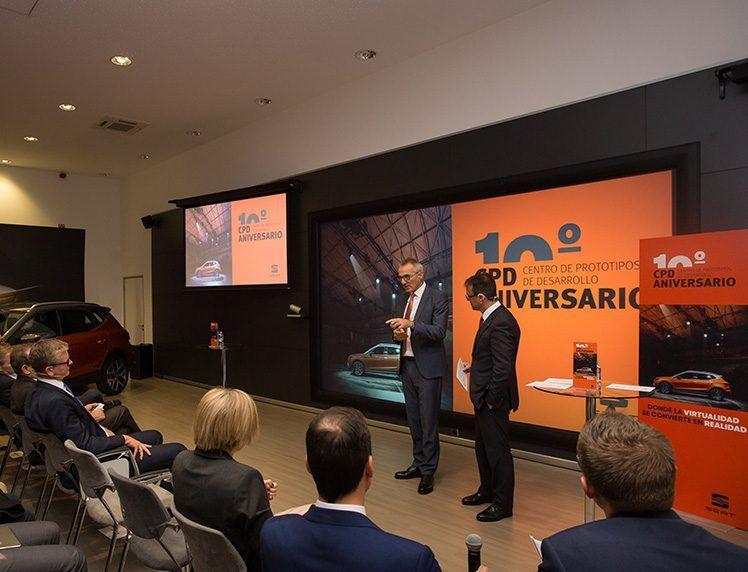 El Centro de Prototipos de Desarrollo de SEAT cumple 10 años impulsando la innovación
