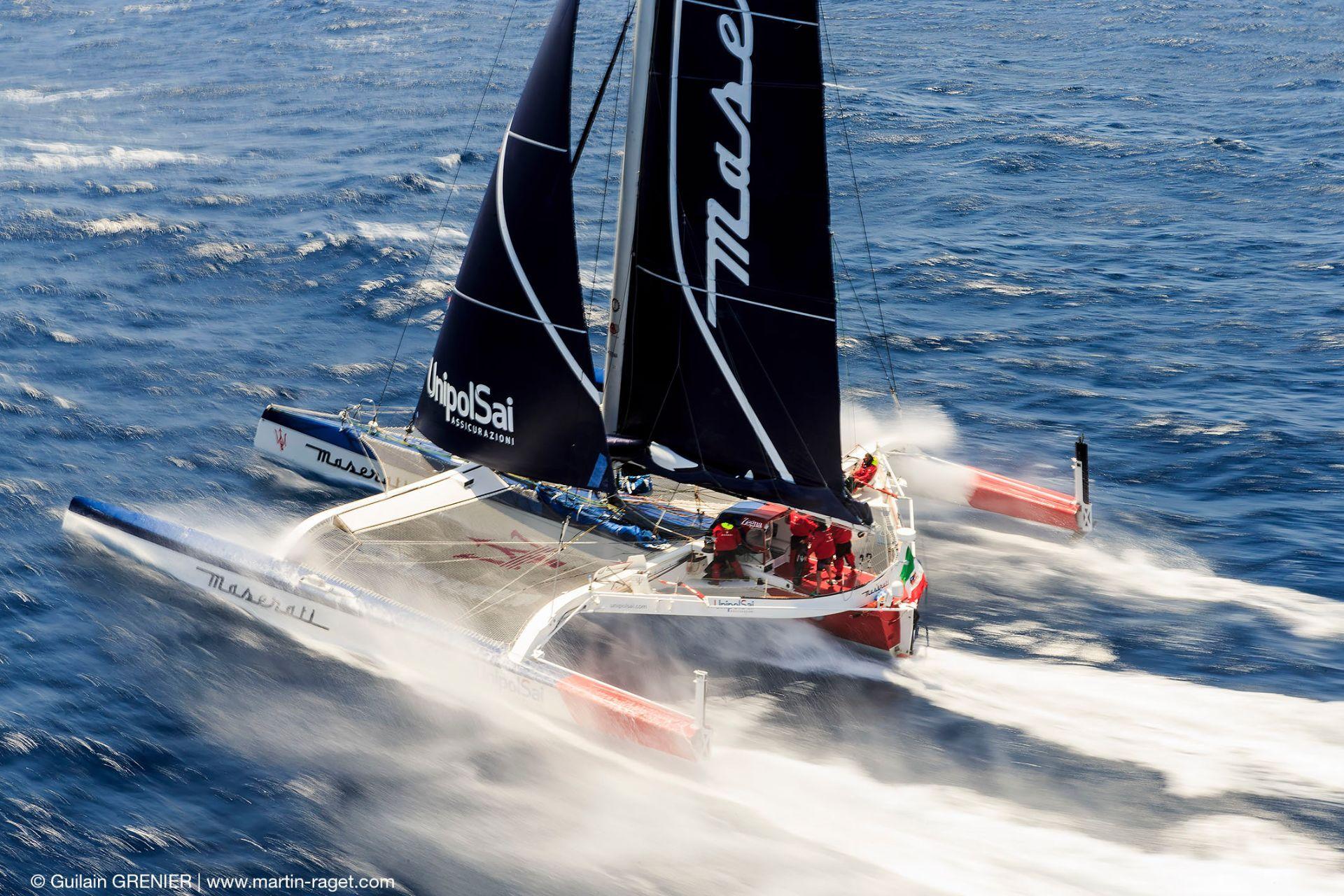 Un nuevo desafío para el Maserati Multi70 y Giovanni Soldini.