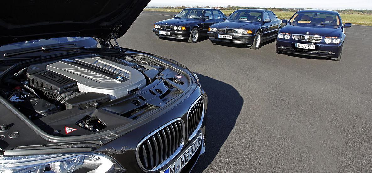 PROPULSORES V12 EN LA SERIE 7 DE BMW: SOLO APTOS PARA COCHES DE LUJO