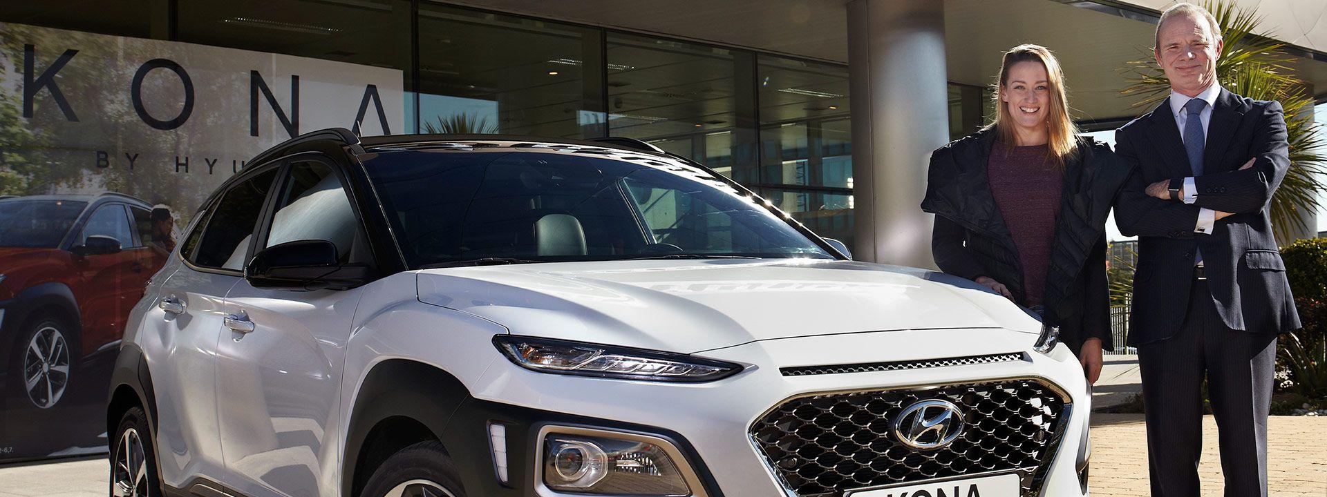 Mireia Belmonte elige el nuevo Hyundai KONA para sus desplazamientos