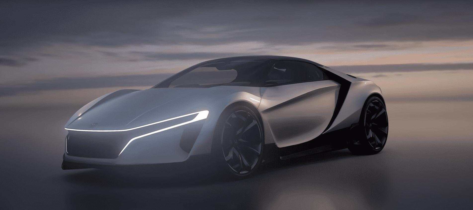 Honda Sports Vision Gran Turismo: un nuevo modelo Honda… para correr sólo en la pantalla