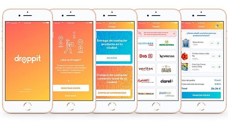 SEAT y Saba presentan Droppit, la app que lleva la compra del supermercado directamente al coche