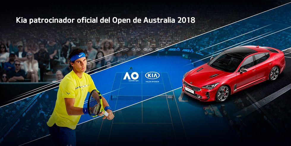 KIA PATROCINADOR OFICIAL DEL OPEN DE AUSTRALIA 2018