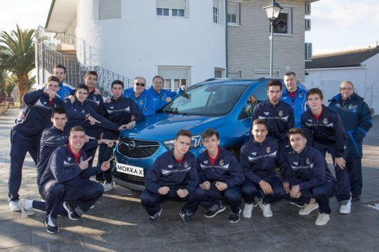 Opel colabora con el Campeonato Nacional Sub-19 masculino de Fútbol Sala.
